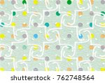 easy arabesque pattern... | Shutterstock . vector #762748564