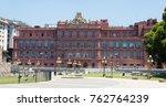 casa rosada official residence... | Shutterstock . vector #762764239