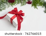 christmas decoration  gift... | Shutterstock . vector #762766015