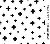seamless scandinavian pattern.... | Shutterstock .eps vector #762766951