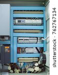 low voltage control box for... | Shutterstock . vector #762767134