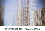 city life. abstract background... | Shutterstock . vector #762795931