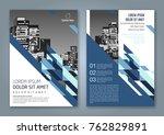 abstract minimal geometric... | Shutterstock .eps vector #762829891
