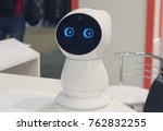nice house robot on the table.... | Shutterstock . vector #762832255