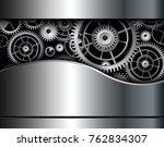 abstract background metallic...   Shutterstock .eps vector #762834307