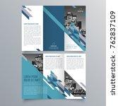 brochure design  brochure... | Shutterstock .eps vector #762837109