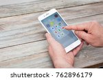berlin  germany   november 26 ...   Shutterstock . vector #762896179