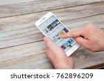 berlin  germany   november 26 ...   Shutterstock . vector #762896209