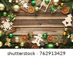 Fir Tree Branches With...