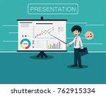 salary man vol.1 presentation.... | Shutterstock .eps vector #762915334