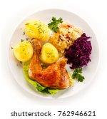 Roast Chicken Legs With...