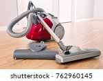 canister vacuum cleaner for... | Shutterstock . vector #762960145