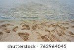 Footprint On The Sand  The...