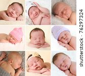 A Collection Of Newborn Baby...