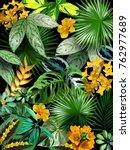 vector vertical banners  a set... | Shutterstock .eps vector #762977689