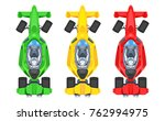 set of colorful fast motor... | Shutterstock .eps vector #762994975