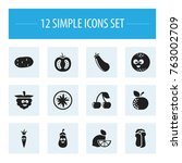 set of 12 editable cookware...