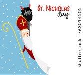 Saint Nicholas With Devil And...