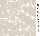 vector of christmas seamless...   Shutterstock .eps vector #763015147