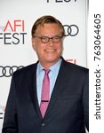 "Small photo of LOS ANGELES, CA - November 16, 2017: Aaron Sorkin at the AFI Fest 2017 Closing Night premiere of ""Molly's Game"" at the TCL Chinese Theatre"