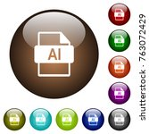 ai file format white icons on...