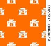 bank building pattern repeat... | Shutterstock .eps vector #763073899