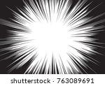 background of radial lines for... | Shutterstock .eps vector #763089691