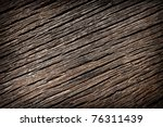 photo shot of old wooden pattern - stock photo