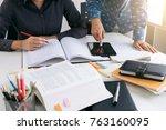 education  teaching  learning ...   Shutterstock . vector #763160095