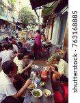 ho chi minh city  viet nam  nov ... | Shutterstock . vector #763168885