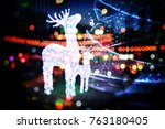 Reindeer And Beautiful Light I...
