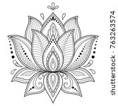 Mehndi Lotus Flower Pattern For ...