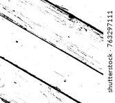 wooden dry planks diagonal...   Shutterstock .eps vector #763297111