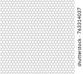 hexagon seamless vector texture.... | Shutterstock .eps vector #763314037