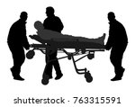 first aid training  help after... | Shutterstock .eps vector #763315591