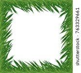 pine tree frame | Shutterstock .eps vector #763329661