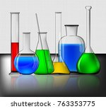Different Laboratory Glassware