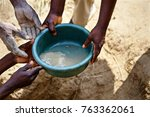 the hands of african men are... | Shutterstock . vector #763362061
