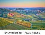 lush vineyards in southen...   Shutterstock . vector #763375651