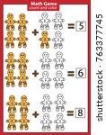 math educational game for... | Shutterstock .eps vector #763377745