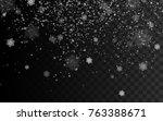 blizzard or snowstorm texture...   Shutterstock .eps vector #763388671