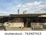 london great britain  october... | Shutterstock . vector #763407415