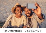 Smiling Young African Couple...