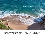 landscapes and details of the... | Shutterstock . vector #763423324