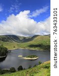 summer view over haweswater...