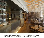 saint petersburg  russia  ... | Shutterstock . vector #763448695