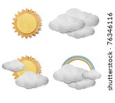 weather grunge recycled paper... | Shutterstock . vector #76346116