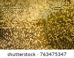 Gold Yellow Square Mosaic Tiles ...
