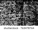 grunge black and white pattern. ... | Shutterstock . vector #763478764