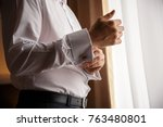 man. people  business fashion...   Shutterstock . vector #763480801